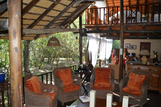 Maqueda Lodge:                   Inviting and relaxing