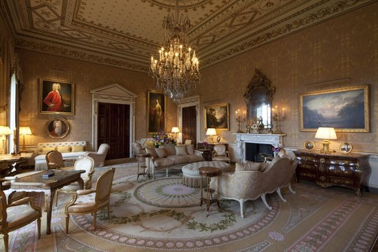 Ballyfin, Ireland: The Gold Room