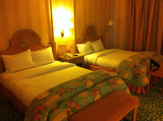 Disneyland Hotel: camera da letto