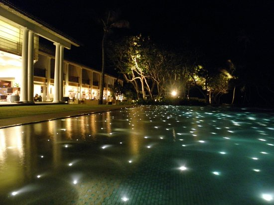 The Fortress Resort & Spa:                   At night