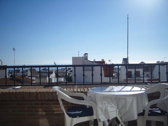 Hotel Casa Rosa:                   terrace