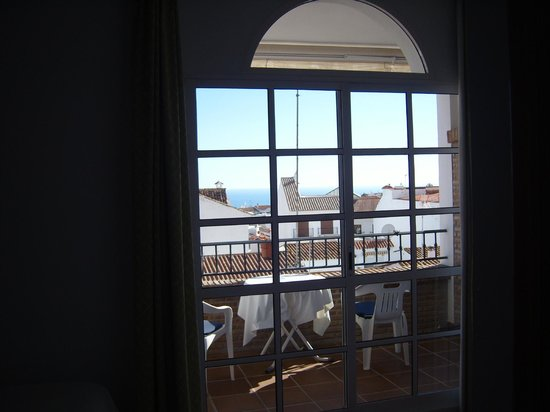 Hotel Casa Rosa:                   view to the terrace