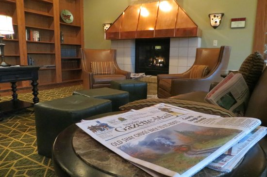 Stonewall Resort: Reading Room