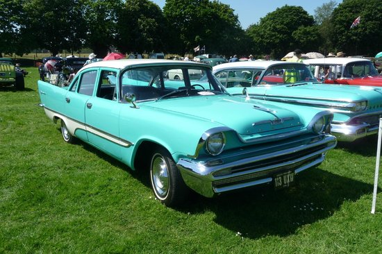 Museum of Power:                   Desoto at car show