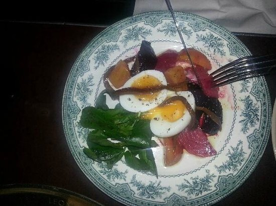 Green Man & French Horn :                   Beetroot Salad - nice