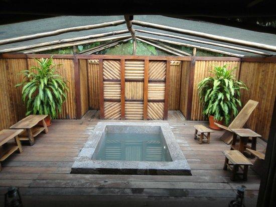 Inkaterra Reserva Amazonica: Relajate en esta piscina de agua fresca viendo las estrellas y disfrutando de los sonidos de la