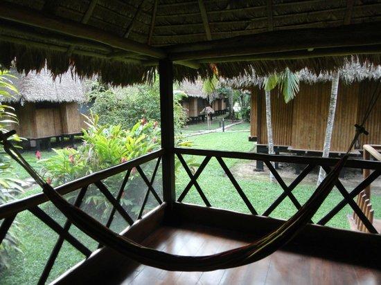Inkaterra Reserva Amazonica: Vista desde la cabaña