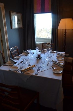 The Edinburgh Residence : la mesa de navidad