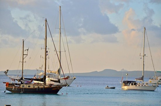 Bamboo Bali Bonaire - Boutique Resort: bonaire harbour