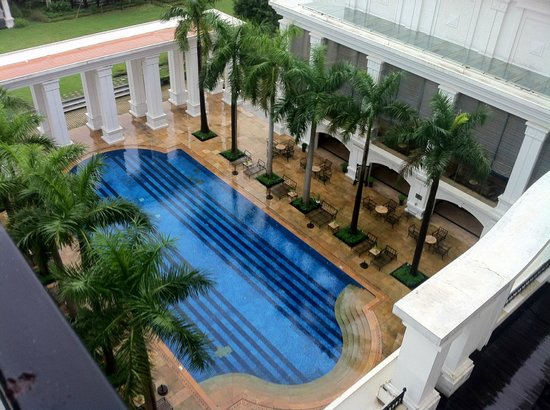 Indochine Palace :                   View from balcony