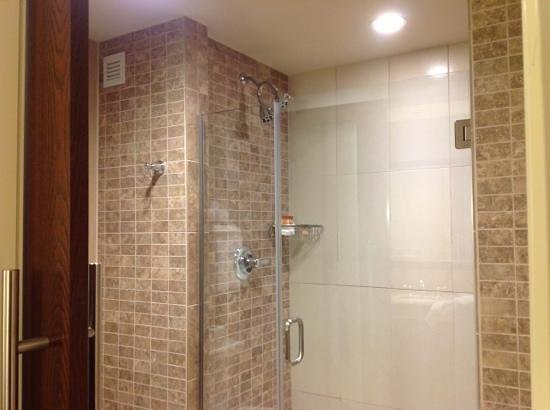 Four Winds Casino Resort:                   loved this shower
