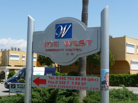 Side West Resort:                   Entree