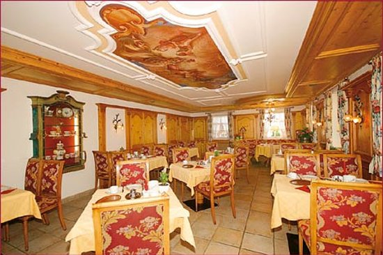 Hotel Edelweiss: Frühstücksraum