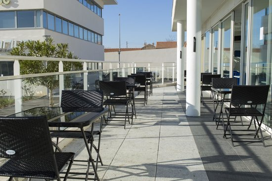 Ibis Budget Marseille l'Estaque : Terrasse