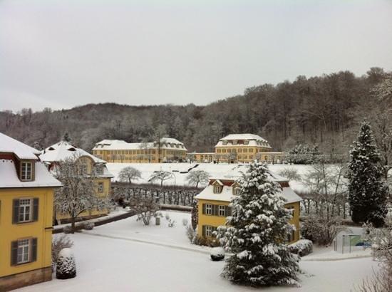 Dorint Resort & Spa Bad Bruckenau: Blick vom Zimmer zum Fürstenhof
