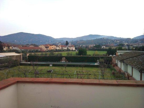 Villa Olmi Firenze:                   A view from the Room at Villa Olmi Resort