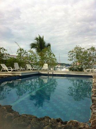 Hotel la Terraza: la piscine
