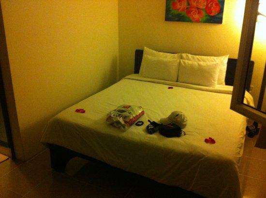 Jade Hotel: le lit