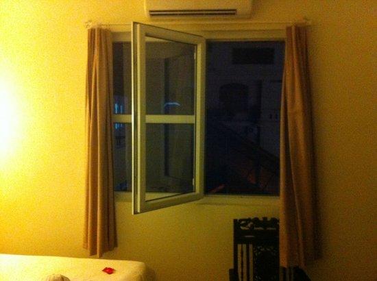 Jade Hotel: vue de la chambre