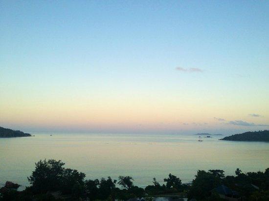 Raffles Seychelles: sunset
