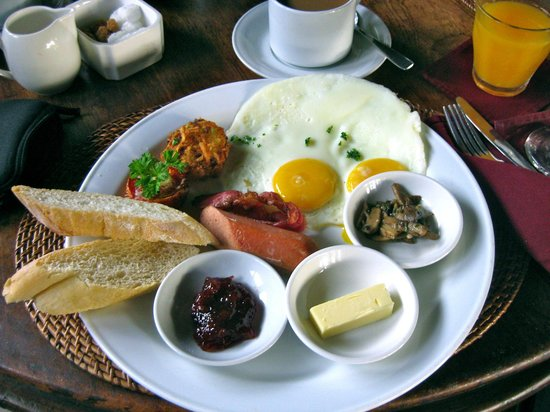 Junjungan Ubud Hotel and Spa: Yummy breakfast