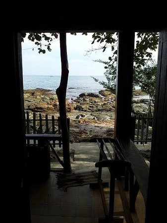 Ao Pudsa Bungalows:                   View from room