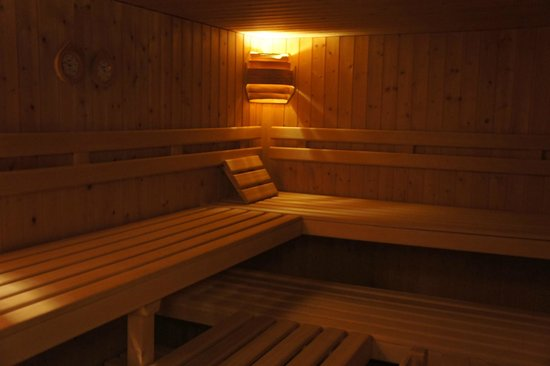 Arena Lodge: Sauna
