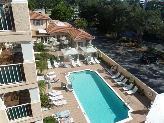 Inn of Naples:                   Overlooking pool.