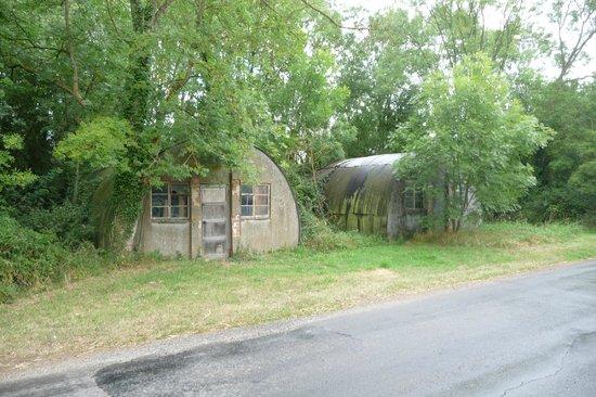Strenneth :                   World war 2 buildings near the village
