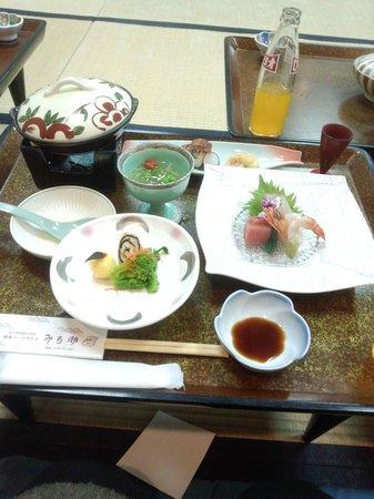 Kashikojima Park Hotel Michishio: 宴会料理w