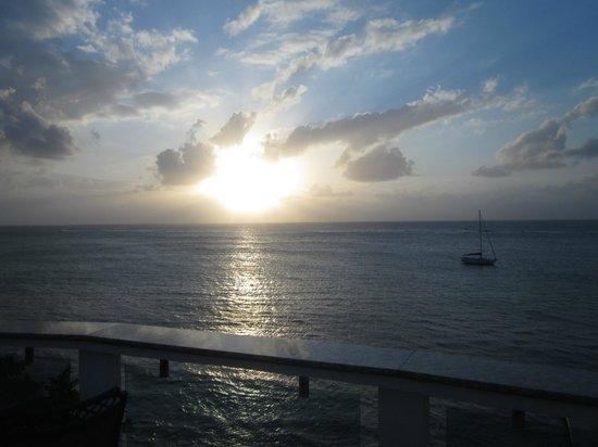 Villas del Playa - Luxury Condos :                   Caribbean Sea View from VDP