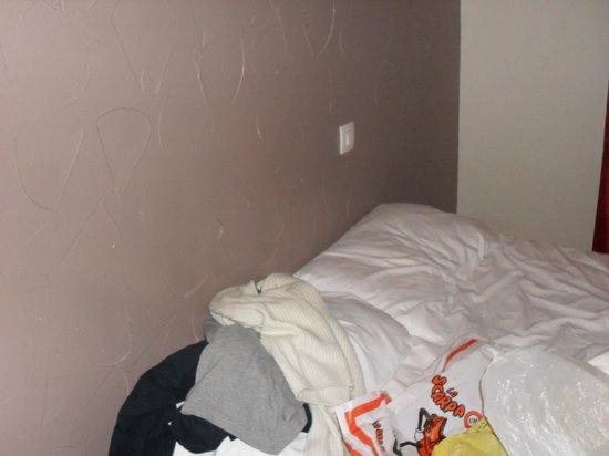 Hotel des Arts Bastille: questo è il letto