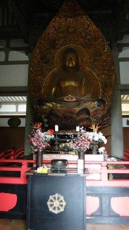 Byodo-In Temple: le buddha à l'intérieur du temple