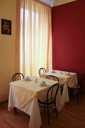 Hotel Romagna: Breakfast area