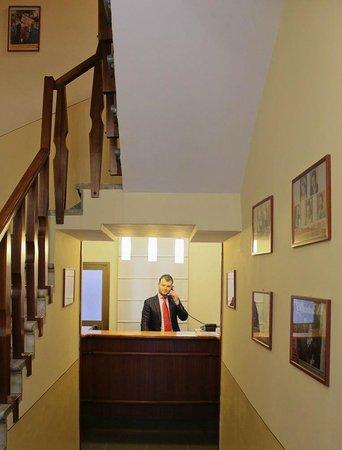 Hotel Romagna: Reception