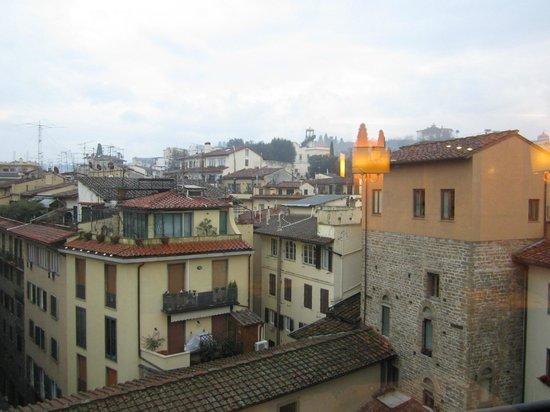 Pitti Palace al Ponte Vecchio: Vistas desde el comedor