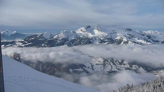 Villars-Gryon Ski Center: Vue des pistes