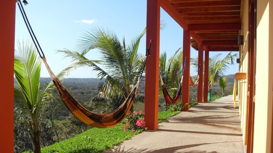 Costa Rica Yoga Spa:                   between yoga hammock hot spot