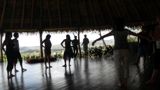 Costa Rica Yoga Spa:                   free move in the yoga rancho