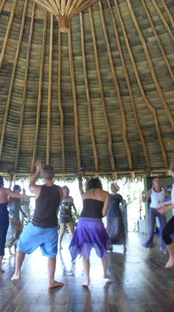 Costa Rica Yoga Spa:                   yoga dance fusion