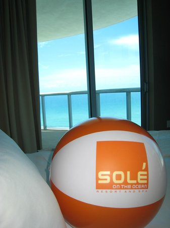 Sole on the Ocean: Ocean Front Suite Bedroom View