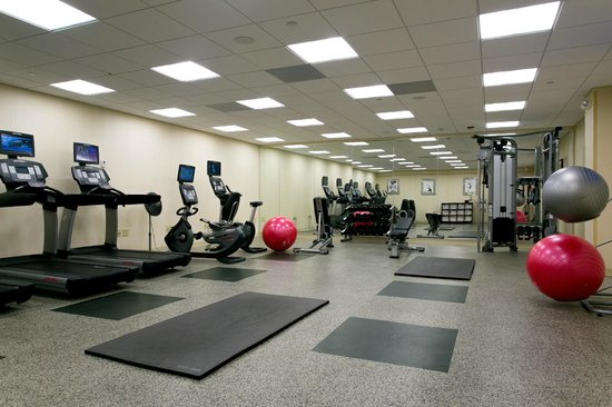 Greensboro Marriott Downtown : Fitness Center