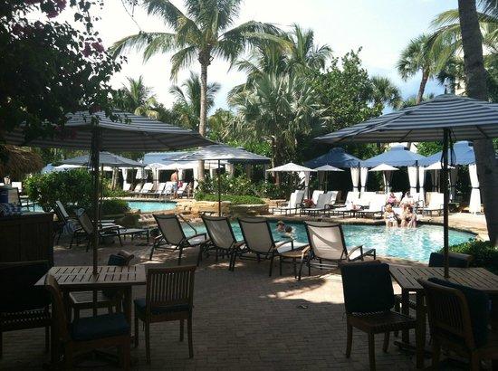 LaPlaya Beach & Golf Resort, A Noble House Resort:                   Lovely poolside