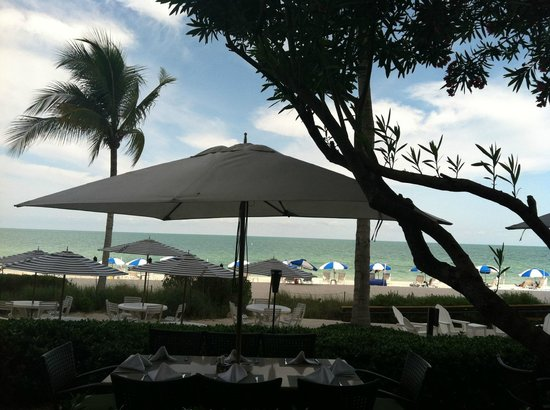 LaPlaya Beach & Golf Resort, A Noble House Resort:                   View from the restaurant area