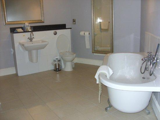 Warner Leisure Hotels Nidd Hall Hotel: Half of the bathroom room 20