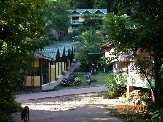 Island Lodge:                   view of hotel