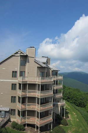 Wintergreen Resort: View from balcony