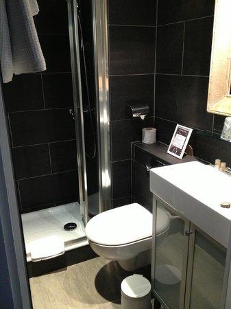 Hotel De La Paix Montparnasse: Bagno