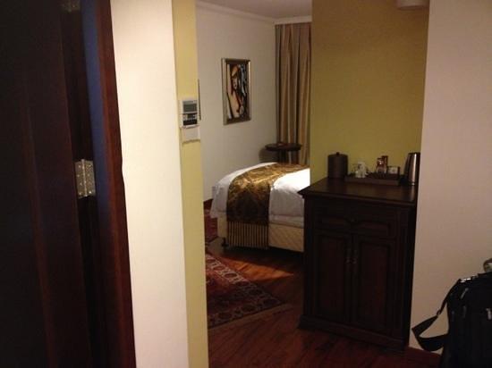 Hotel Duvet : une chambre