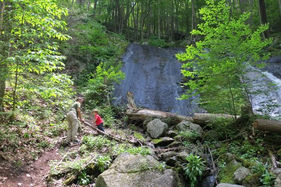 Wintergreen Resort: Wigwam waterfalls , near the milepost 34